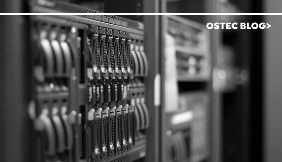 Rack de servidores.