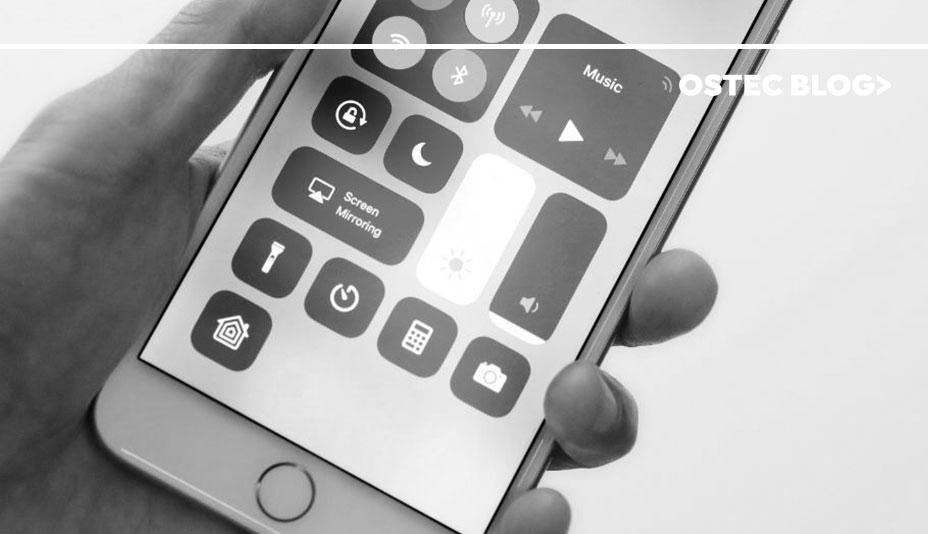 Bluetooth ativado em smartphone.