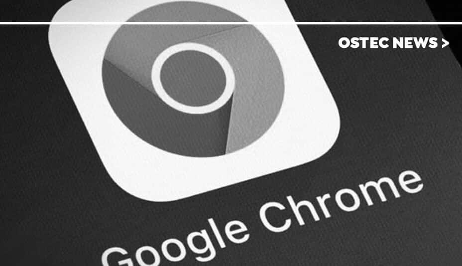 Captura de tela do ícone do Google Chrome