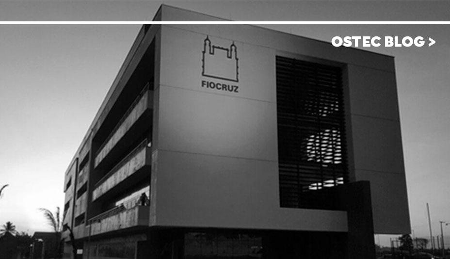 Fachada empresa Fiocruz Ceará