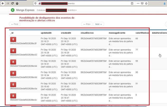 Captura de tela sistema Fiocruz