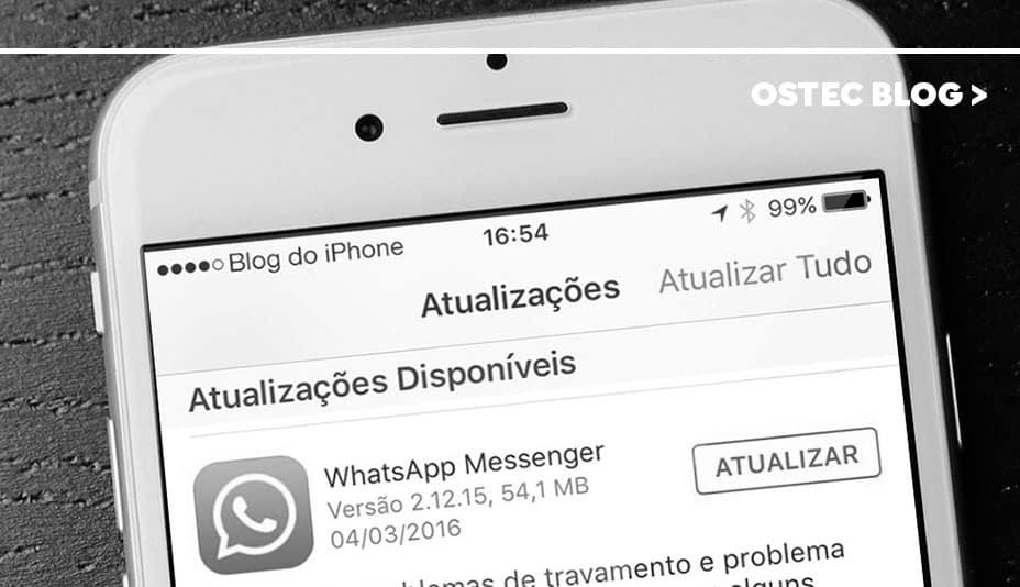 aplicativo whatsapp atualização