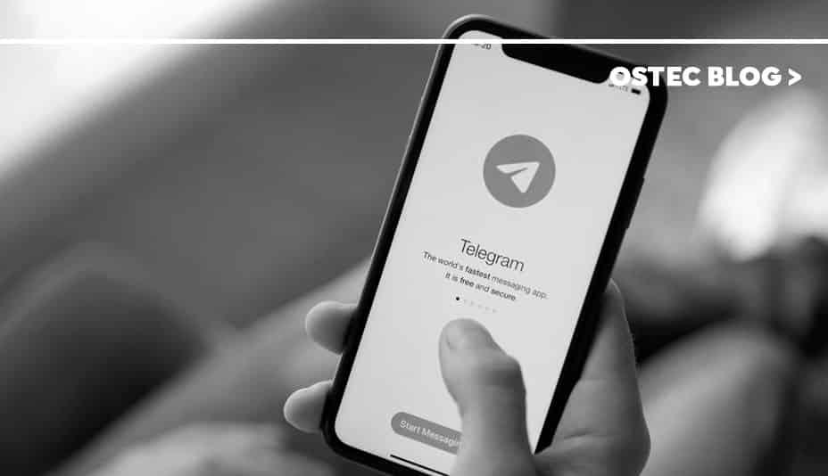 aplicativo telegram em celular