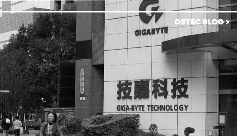 fachada da empresa gigabyte